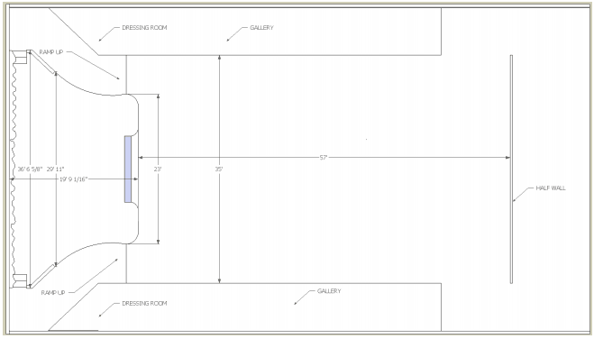 Plaza Carrollton Events Venue Floor Plan